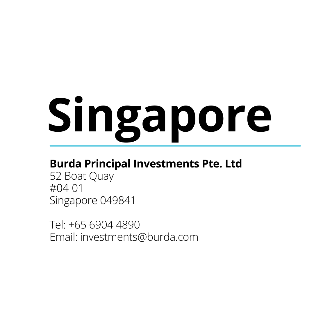 Rich results on Google SERP when searching for Burda Principal Investments